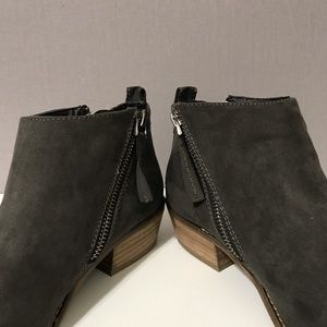 Dolce Vita Shoes - DV8 by Dolce Vita   Gray Chyro Double Zip Booties
